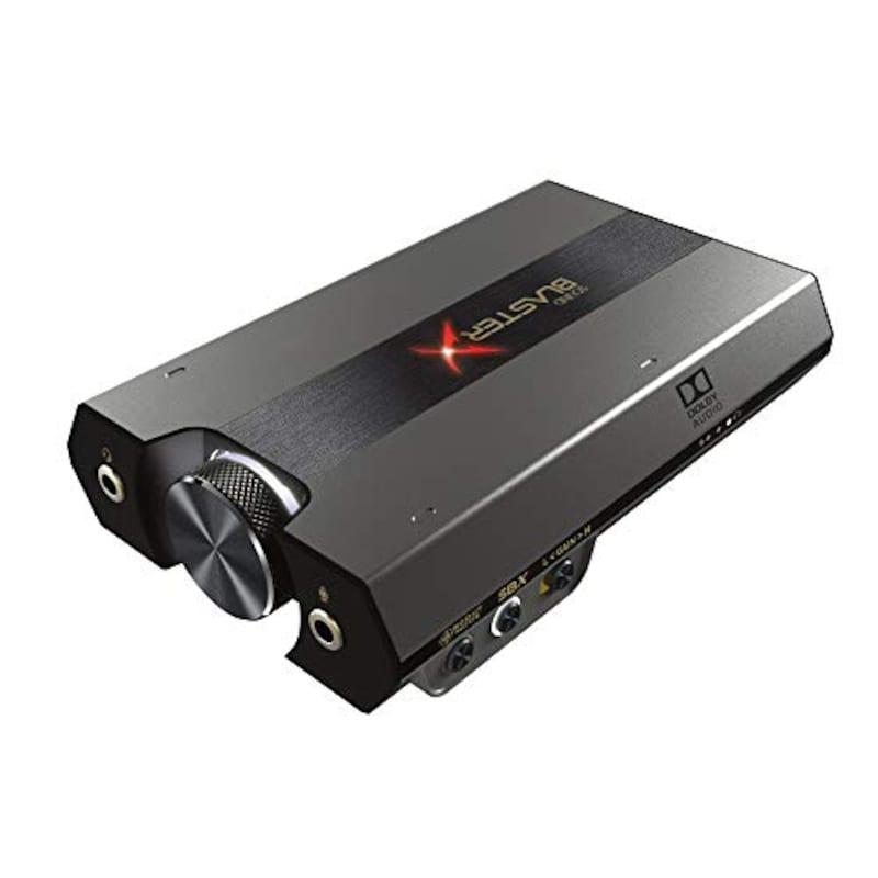 クリエイティブ・メディア,Creative Sound BlasterX G6,SBX-G6