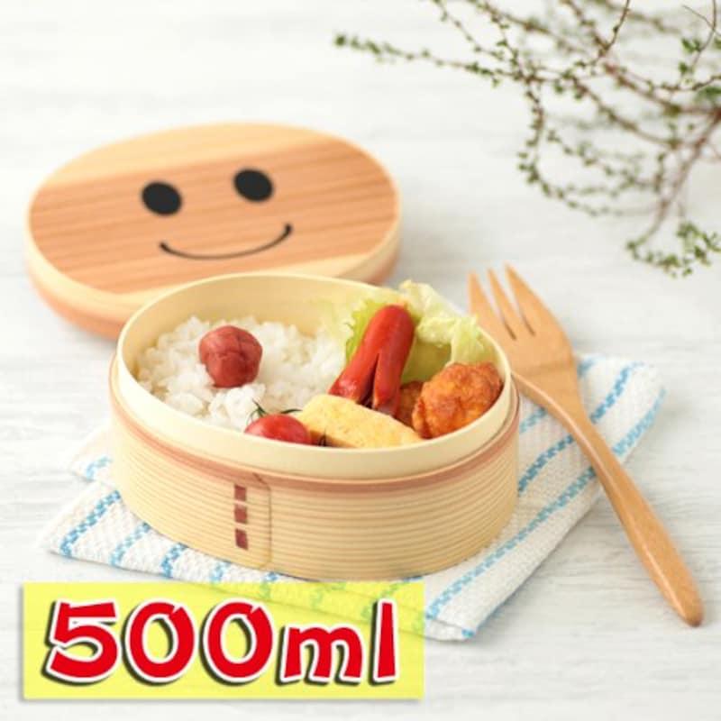 三好漆器,まげワッパくん お弁当箱,MW-22
