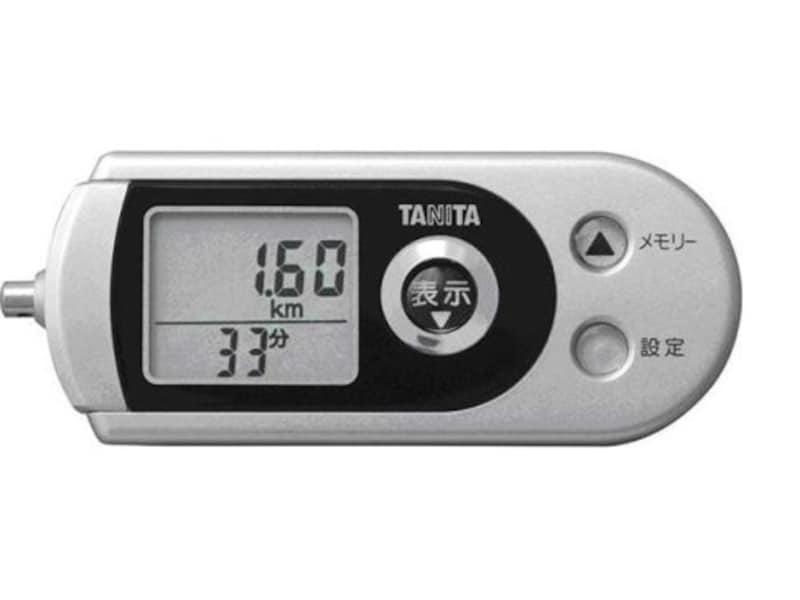 タニタ,3Dセンサー搭載 防犯ブザー付歩数計,FB-722