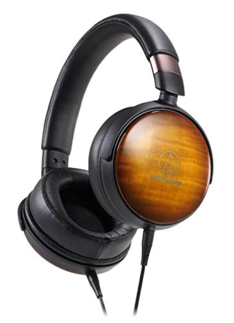audio-technica(オーディオテクニカ),ウッドハウジング オーバーイヤーヘッドホン,ATH-WP900