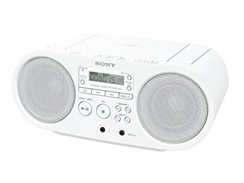 SONY,CDラジオ,ZS-S40