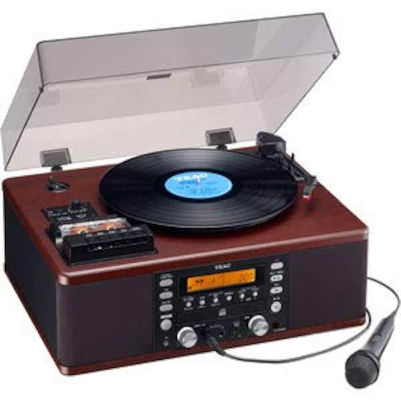 TEAC,ターンテーブル カラオケ機能付き,LP-R560K-WA