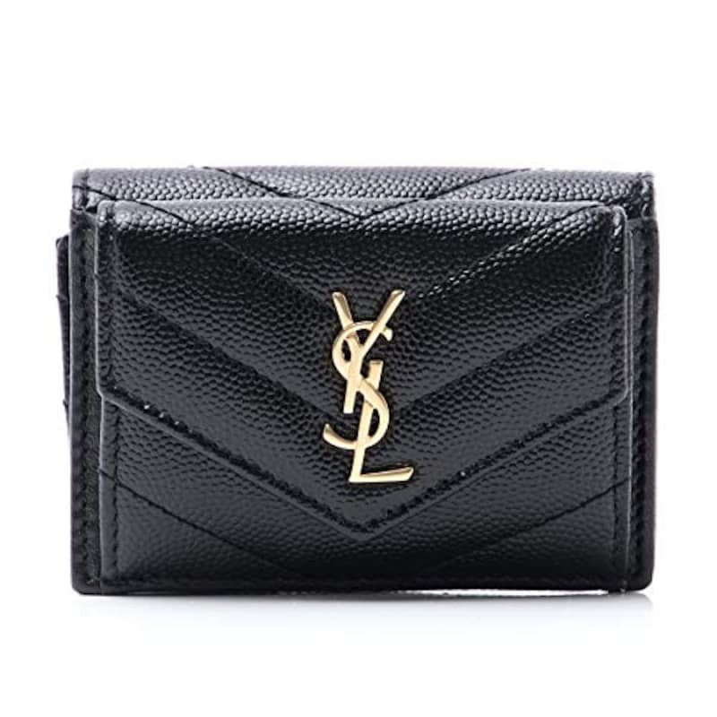 サンローランパリ コンパクト三つ折り財布