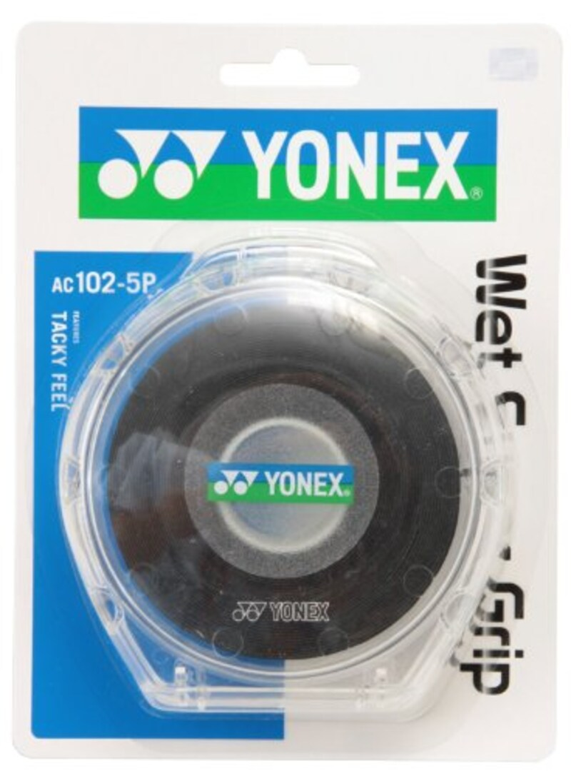 Yonex(ヨネックス),ウェットスーパーグリップ5本パック,AC102-5P
