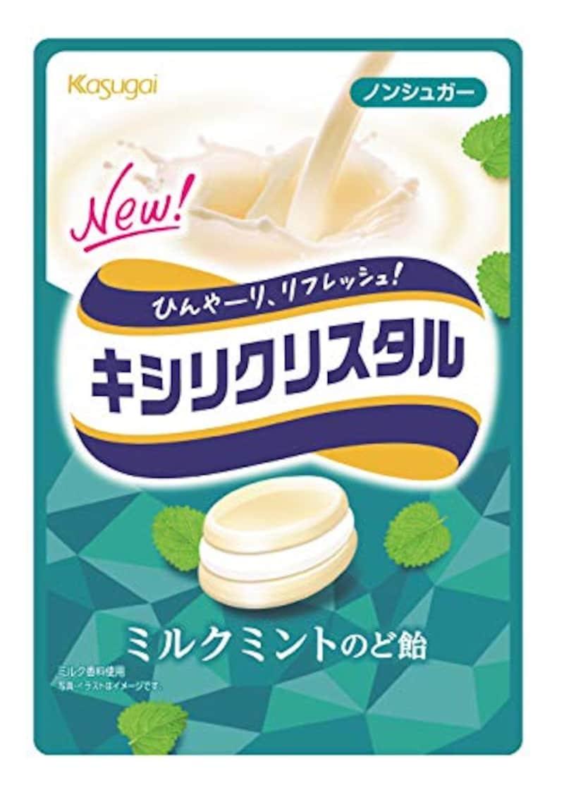 キシリクリスタル ミルクミントのど飴