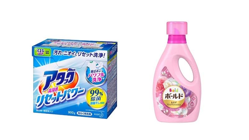 柔軟剤入り洗剤の気になる効果とおすすめ6選