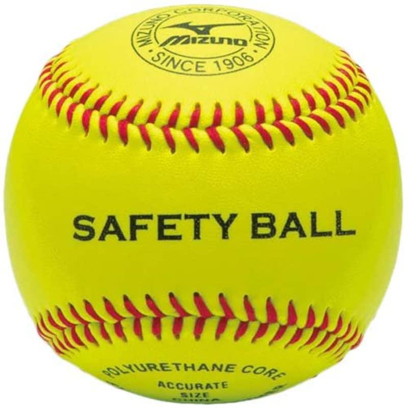 ミズノ(MIZUNO) 野球 硬式ボール 一般 セーフティーボール 守備練習球 (1BJBH82600)