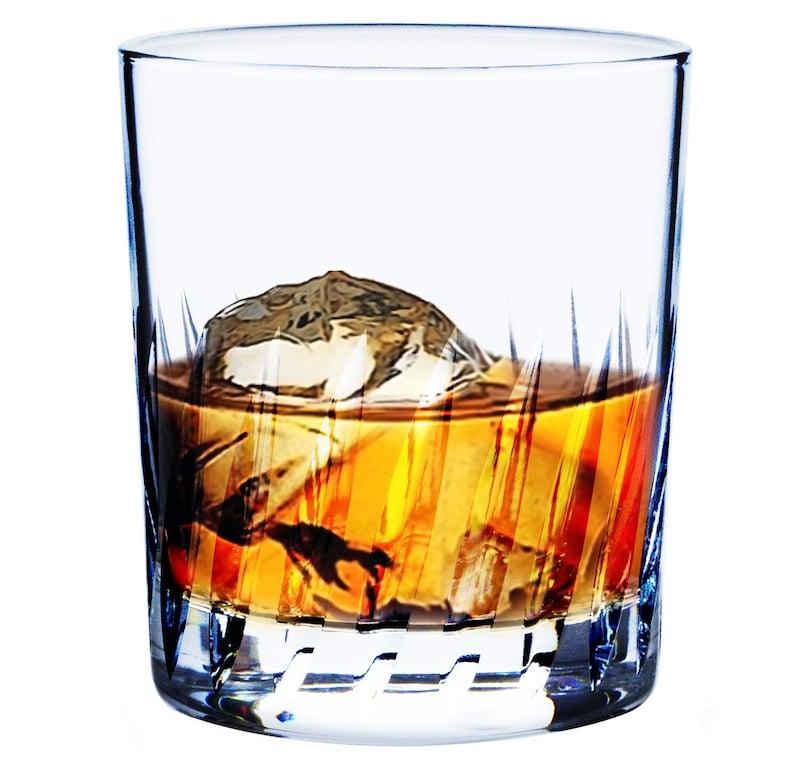 東洋佐々木ガラス,オンザロック フェザーカット,B-30109-C702