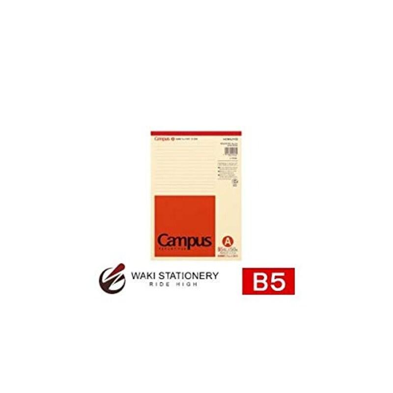 コクヨ,再生紙レポート箋B5 A罫 50枚/ 10セット,レ-E50A