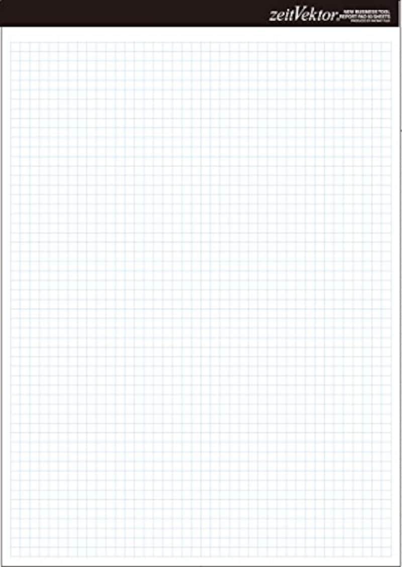 レイメイ藤井,レポート用紙 ツァイトベクター A4,ZVP455