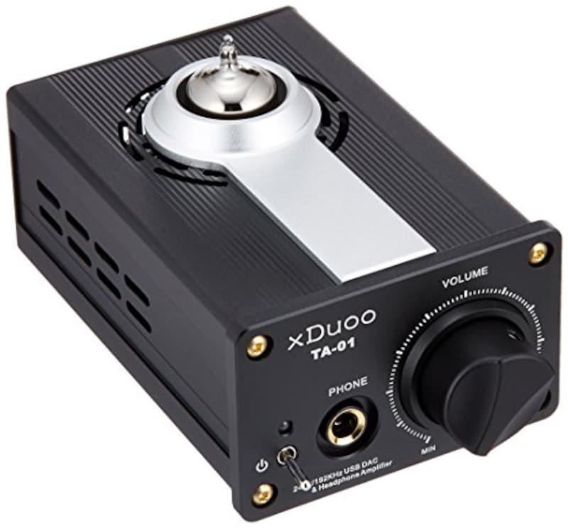 xDuoo,ハイレゾ音源対応 DAC搭載真空管ヘッドホンアンプ,TA-01