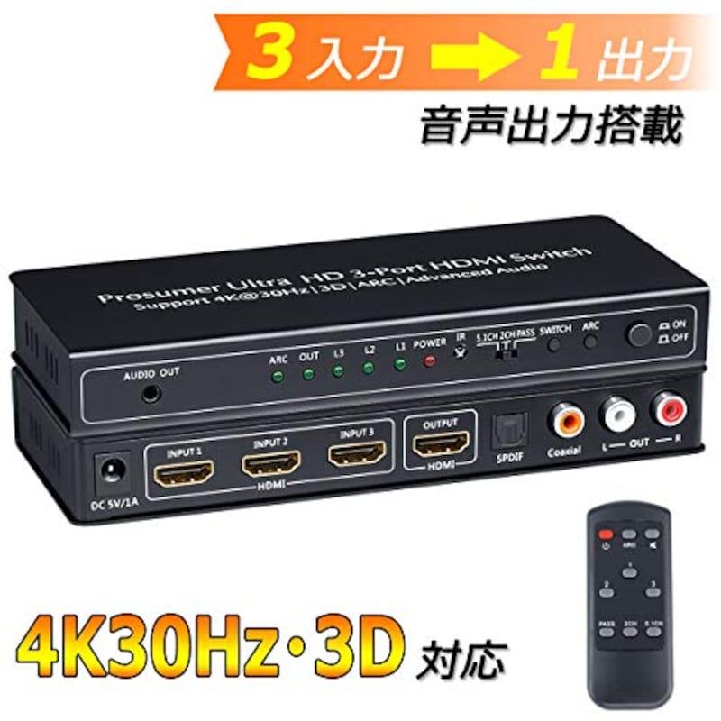 BLUPOW,HDMIセレクター