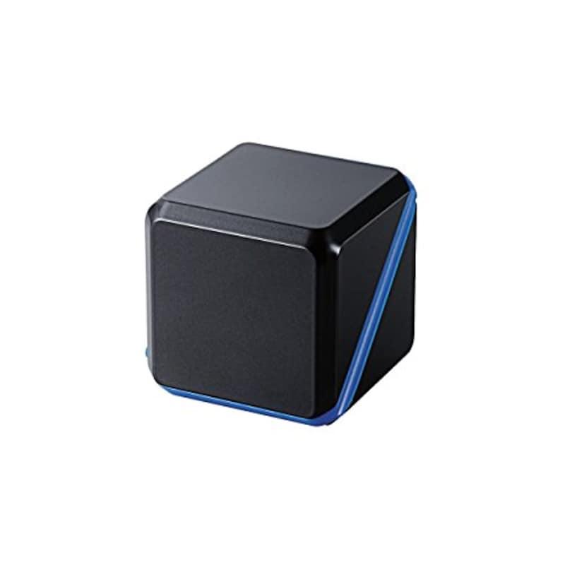ELECOM(エレコム),コンパクトスピーカー キューブ型,ASP-SMP220BBK