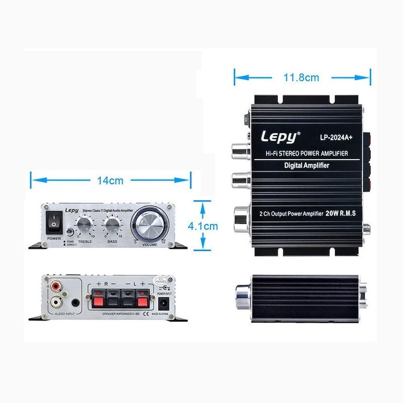 LEPY,デジタルアンプ,LP2024A
