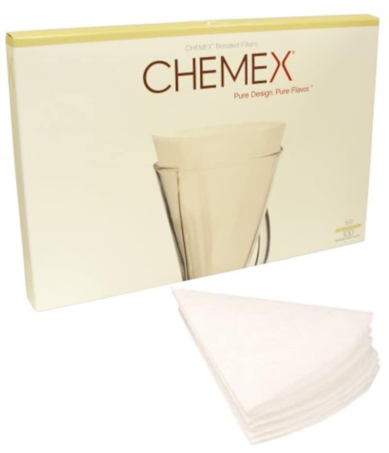 CHEMEX (ケメックス),フィルター 3カップ用 100枚入 FP-2 ,FP-2