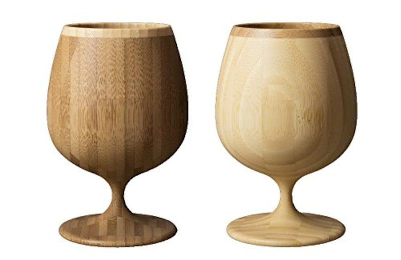 RIVERET,竹製ブランデーグラス,rv-204wb