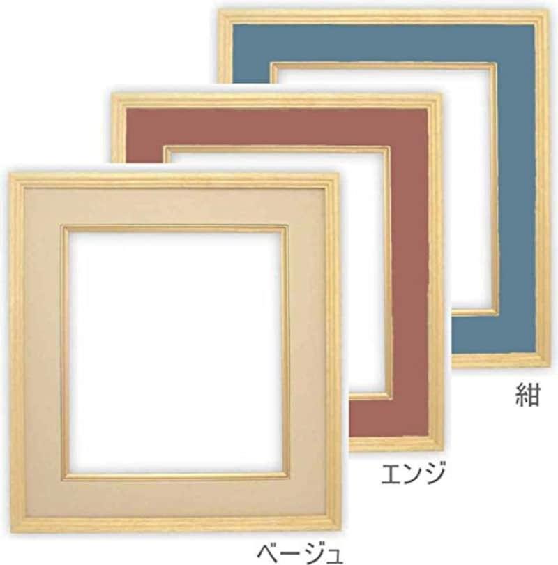 額縁専門店  ないとう,木製色紙額  普通色紙サイズ作品専用,K-80