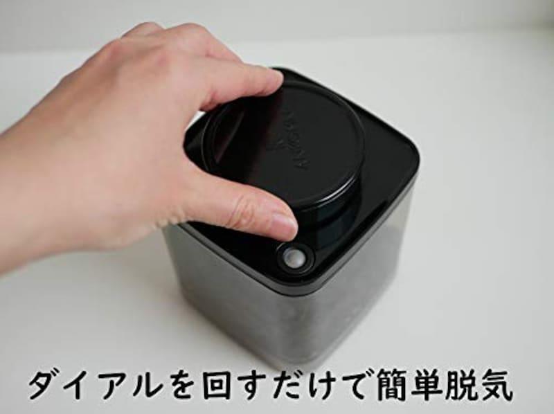 ANKOMN,ダイアル式真空保存容器ターンシール半透明,tns-04-mdhb