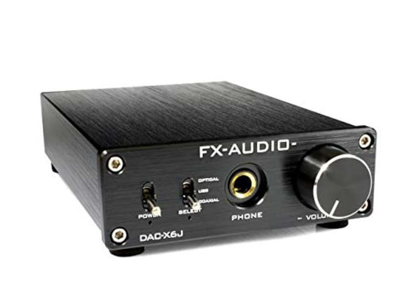 FX-AUDIO,ヘッドホンアンプ,DAC-X6J
