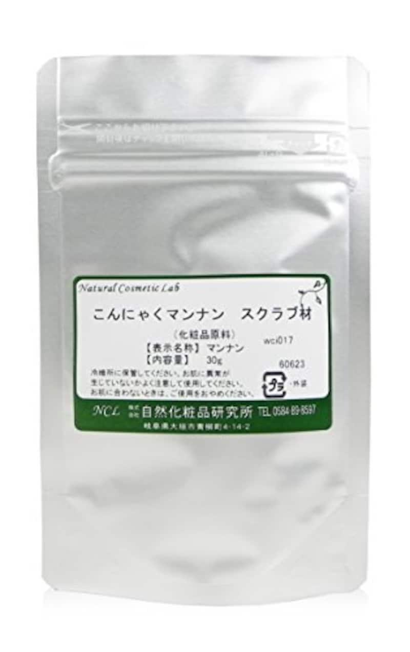 自然化粧品研究所,こんにゃくマンナン スクラブ材,wci017
