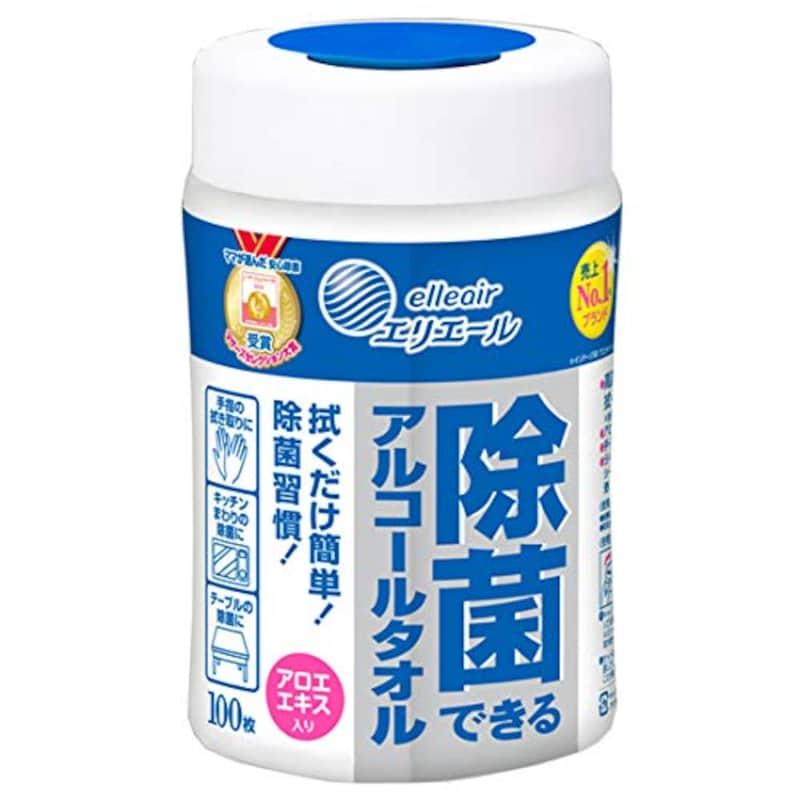 エリエール  ,除菌できるアルコールタオル 本体