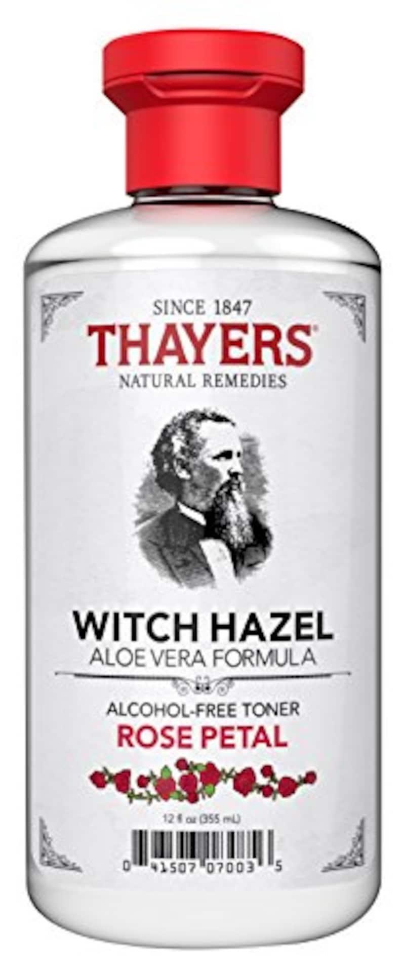 THAYERS(セイヤーズ),ローズペタル ウィッチヘーゼル アルコールフリー化粧水