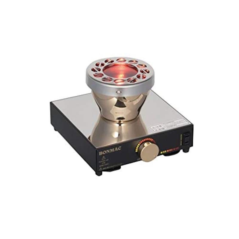 BONMAC,コーヒーサイフォン用ビームヒーター,BMBH-350N