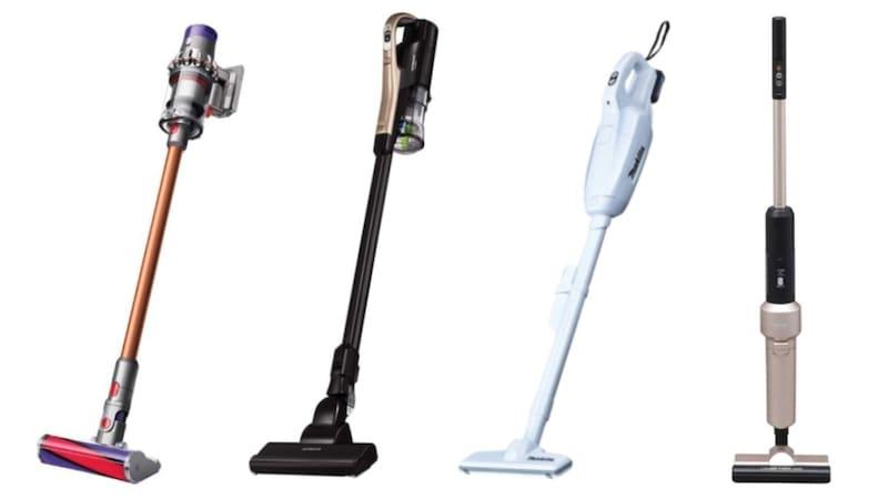 【2021最新】コードレス掃除機おすすめランキング14選|比較!人気メーカーやバッテリーについて