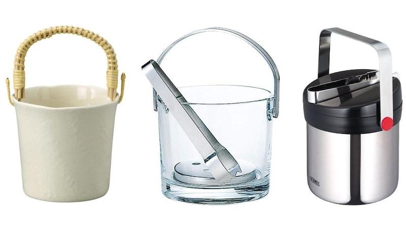 アイスペールのおすすめ人気ランキング11選|晩酌をおしゃれに!ガラス製やステンレス製、蓋付きのものも!