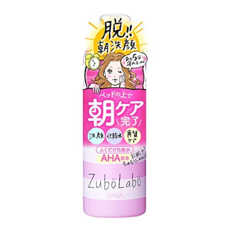 常盤薬品 サナ,ズボラボ 朝用ふき取り化粧水