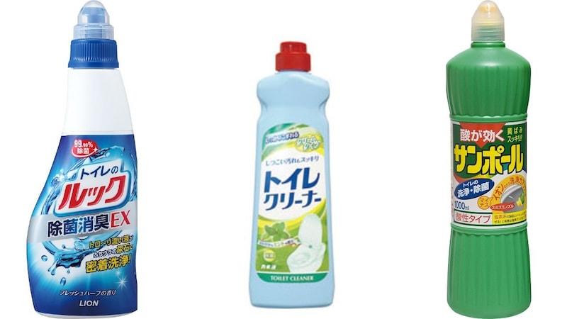【最強】トイレ用洗剤の人気13選|強力なおすすめ商品!こすらないで放置も◎