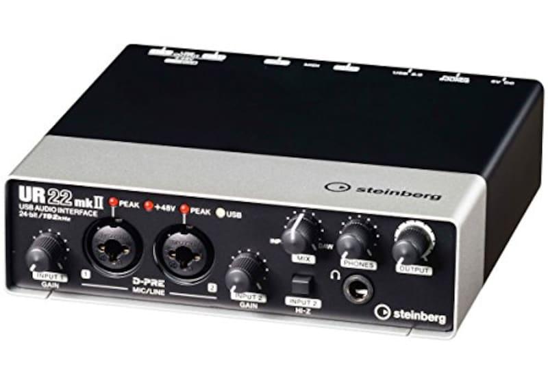 Steinberg(スタインバーグ),2× 2 USB 2.0 オーディオインターフェース,UR22mkII