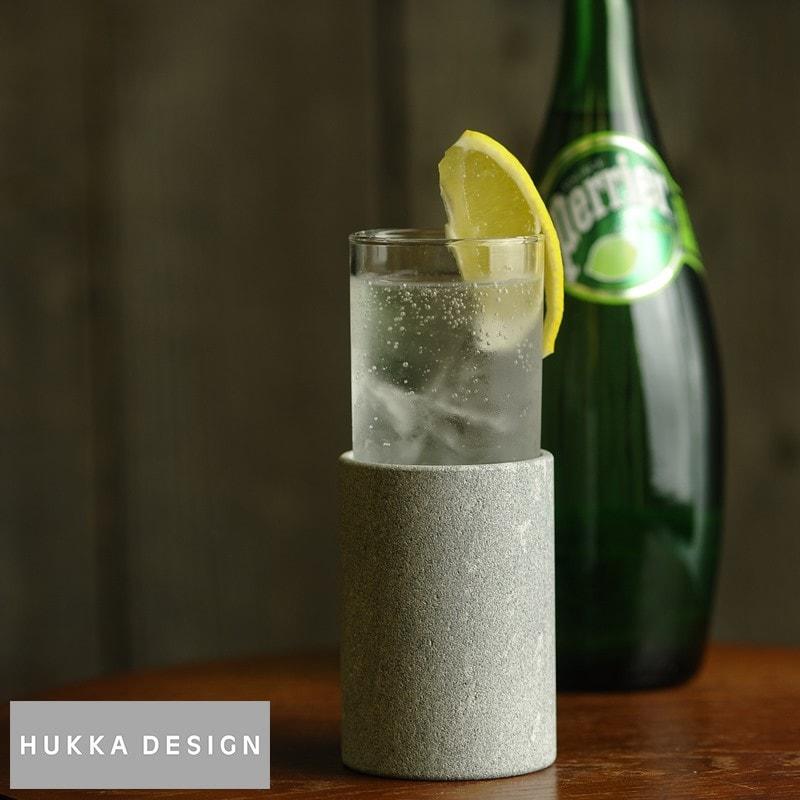 HUKKA DESIGN,ソープストーン クーラー&グラスセット