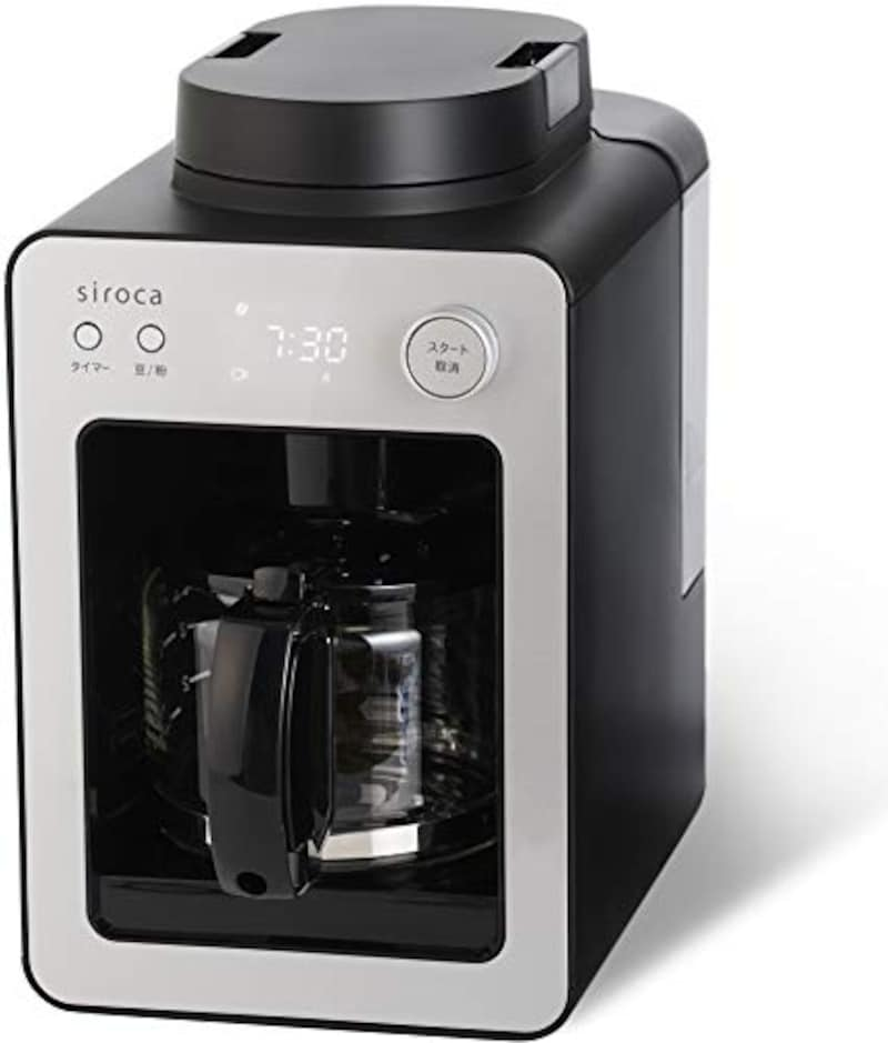 シロカ,全自動コーヒーメーカー カフェばこ ,SC-A351