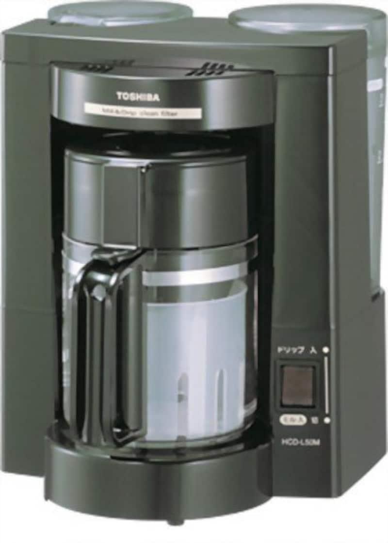 東芝,コーヒーメーカー,HCD-L50M(K)
