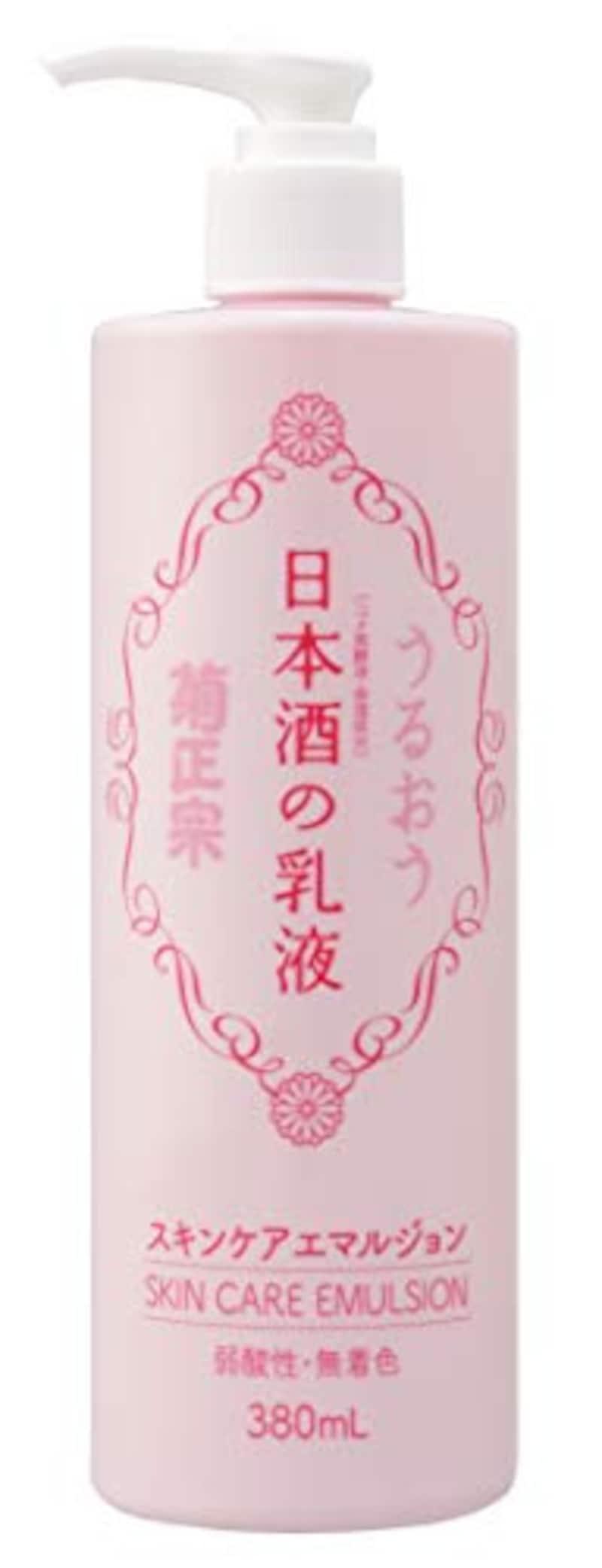 菊正宗,日本酒の乳液