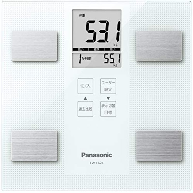 パナソニック(Panasonic),体重・体組成計,EW-FA24-W