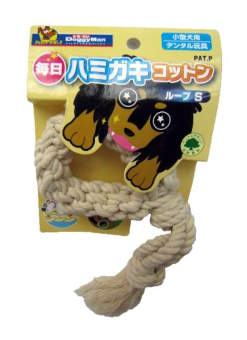 ドギーマン,犬用おもちゃ 毎日ハミガキコットン