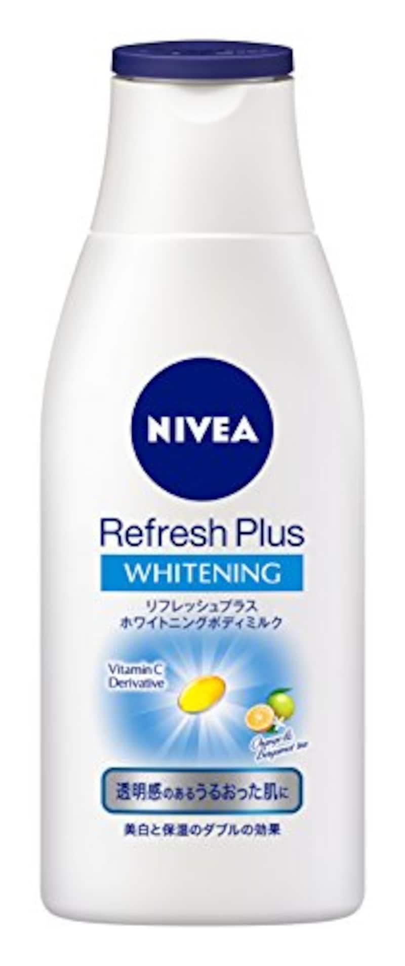 ニベア,リフレッシュプラスホワイトニングボディミルク