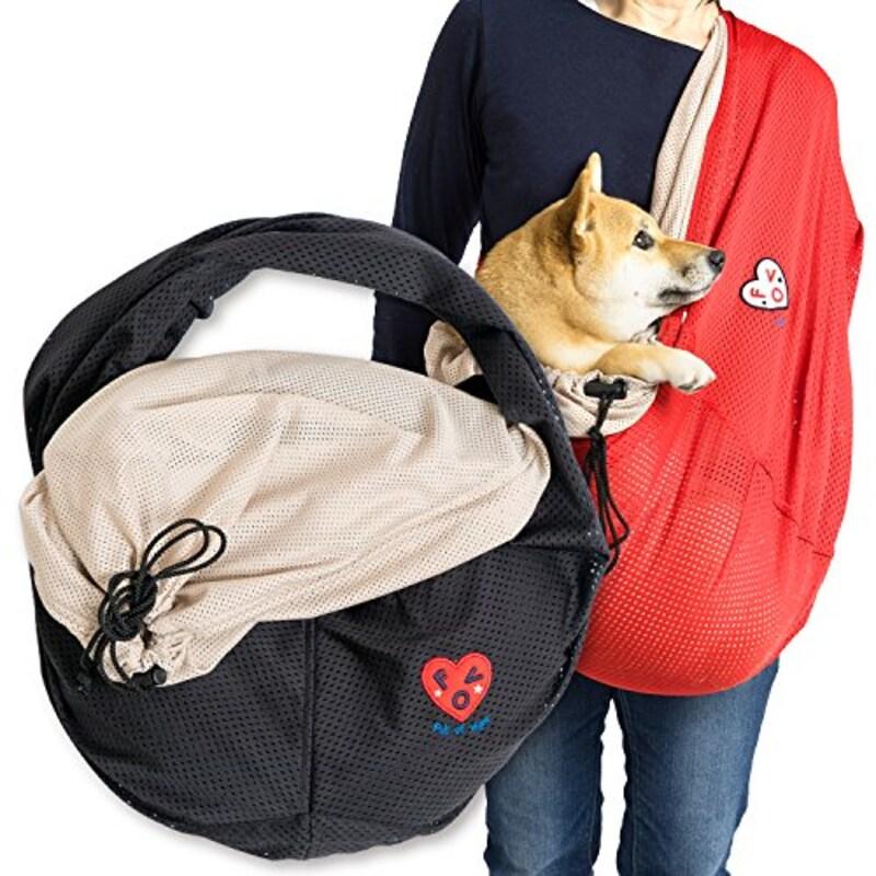 犬の服 full of vigor,ふた付抱っこだワン,14-13010-1