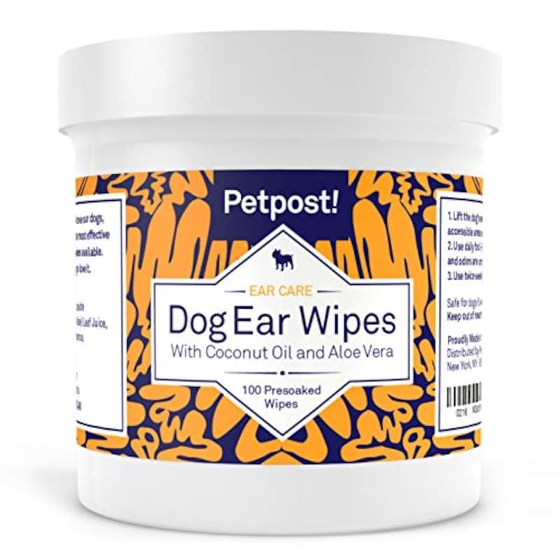 Petpost,猫と犬用耳クリーニングシート