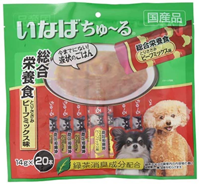 いなば,犬用おやつ ちゅ~る ビーフミックス味