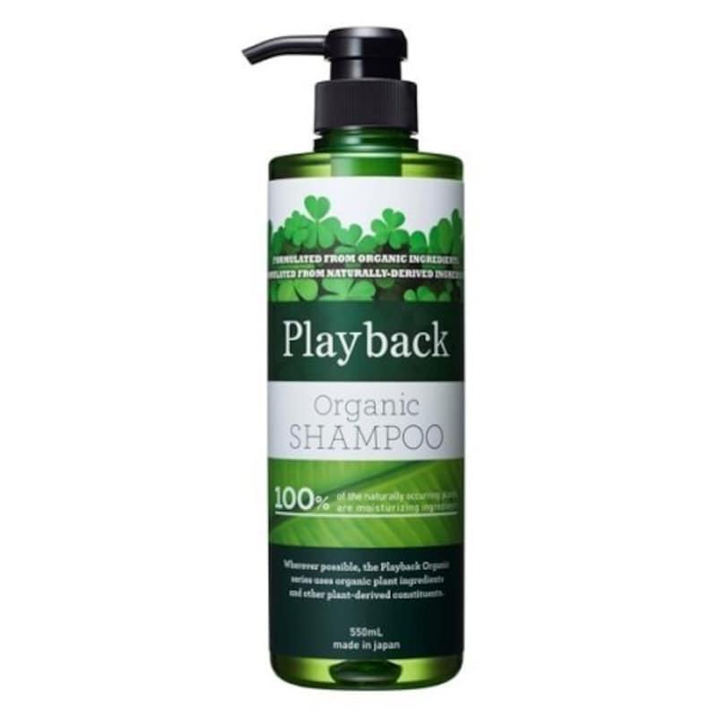 Play back(プレイバック),オーガニックシャンプー,4560314705269