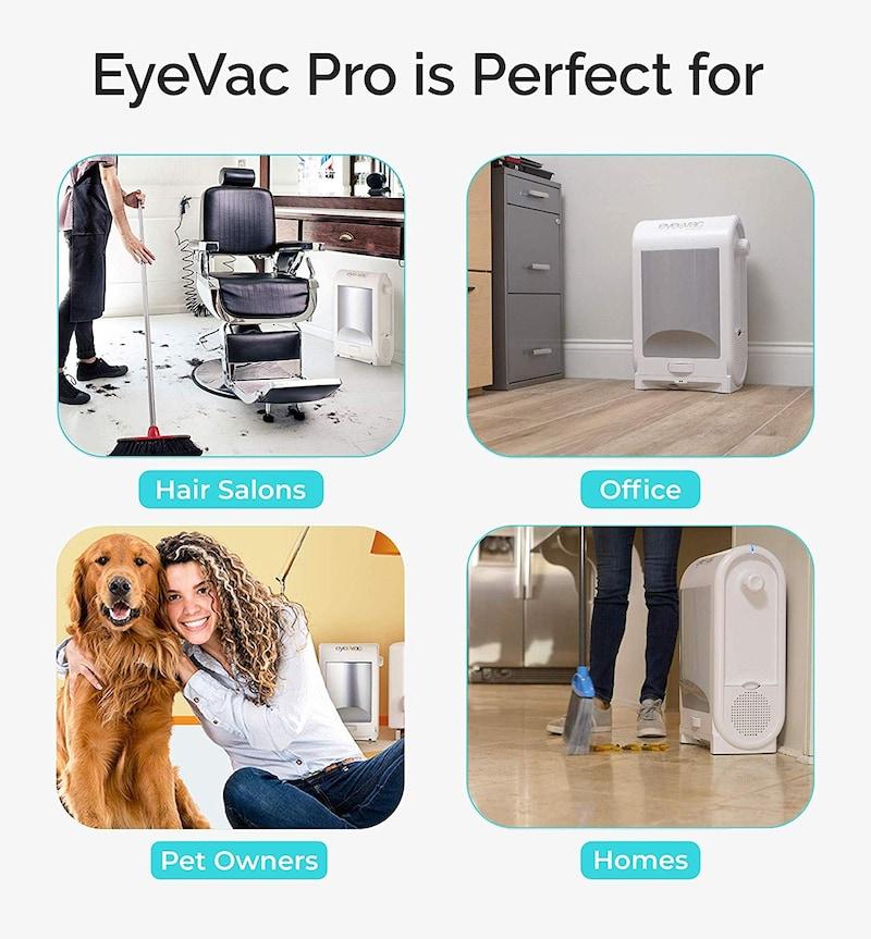 Eye-Vac(アイバック),プロフェッショナル バキュームクリーナー,EVPRO-W