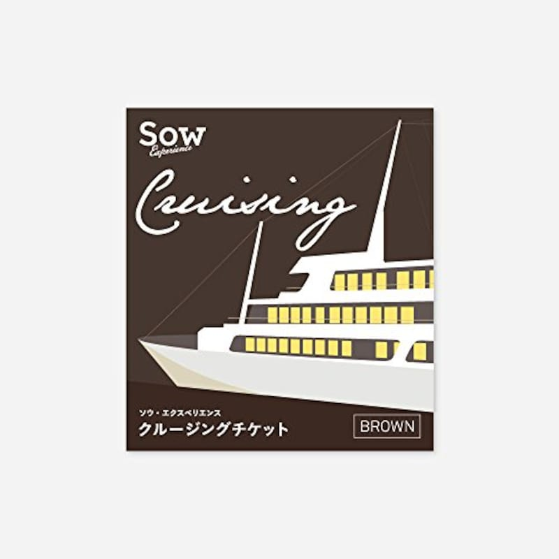SOW EXPERIENCE,クルージングチケット BROWN