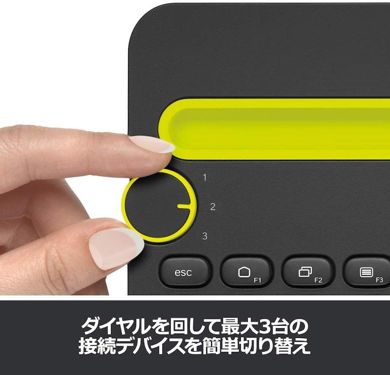 Logicool(ロジクール),Bluetooth ワイヤレス キーボード,K480BK