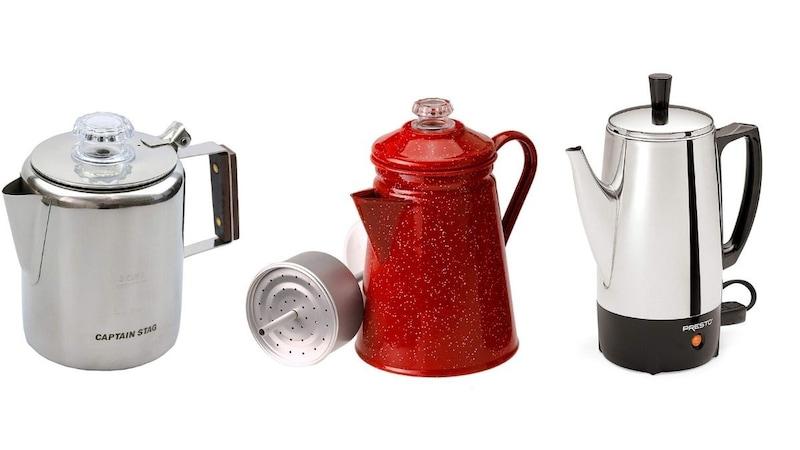 パーコレーターおすすめ人気ランキング9選|キャンプでコーヒーを美味しく淹れる!