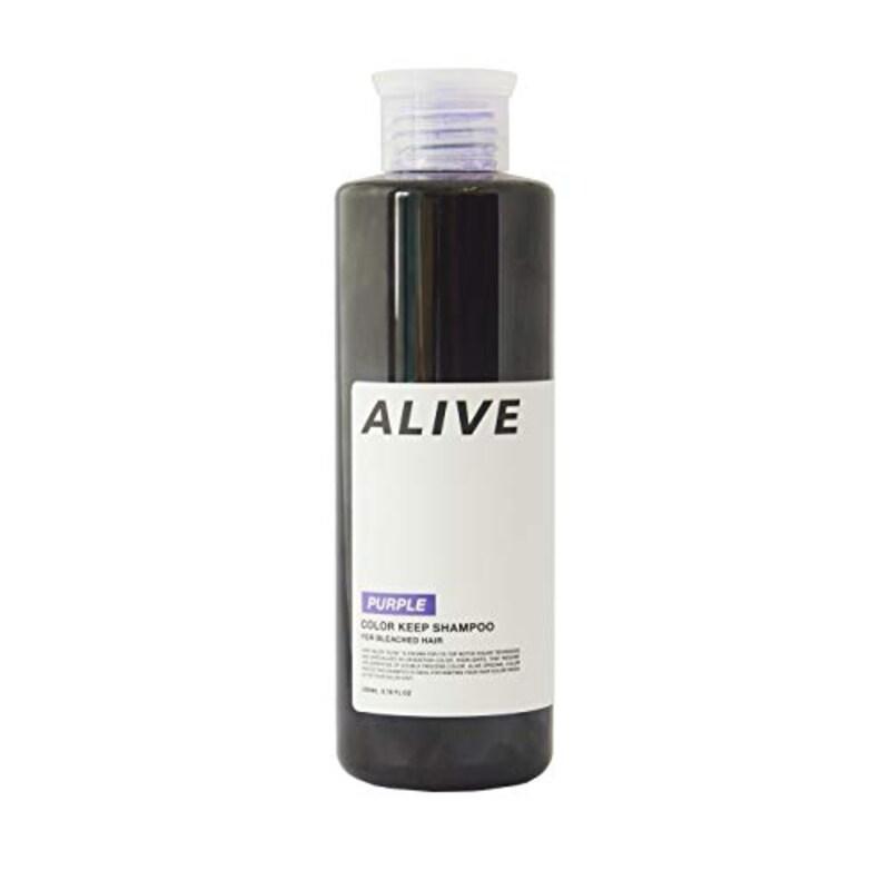 Alive(アライブ),カラーシャンプー 極濃 紫シャンプー 200ml,6G1