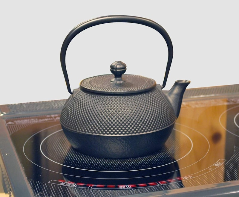 岩鋳(IWACHU),鉄瓶 7型アラレ 南部鉄器,11960