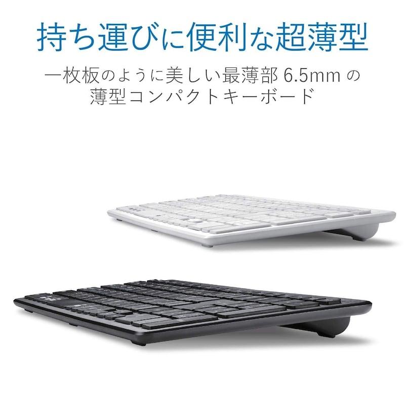 ELECOM(エレコム),キーボード Bluetooth ,TK-FBP101BK